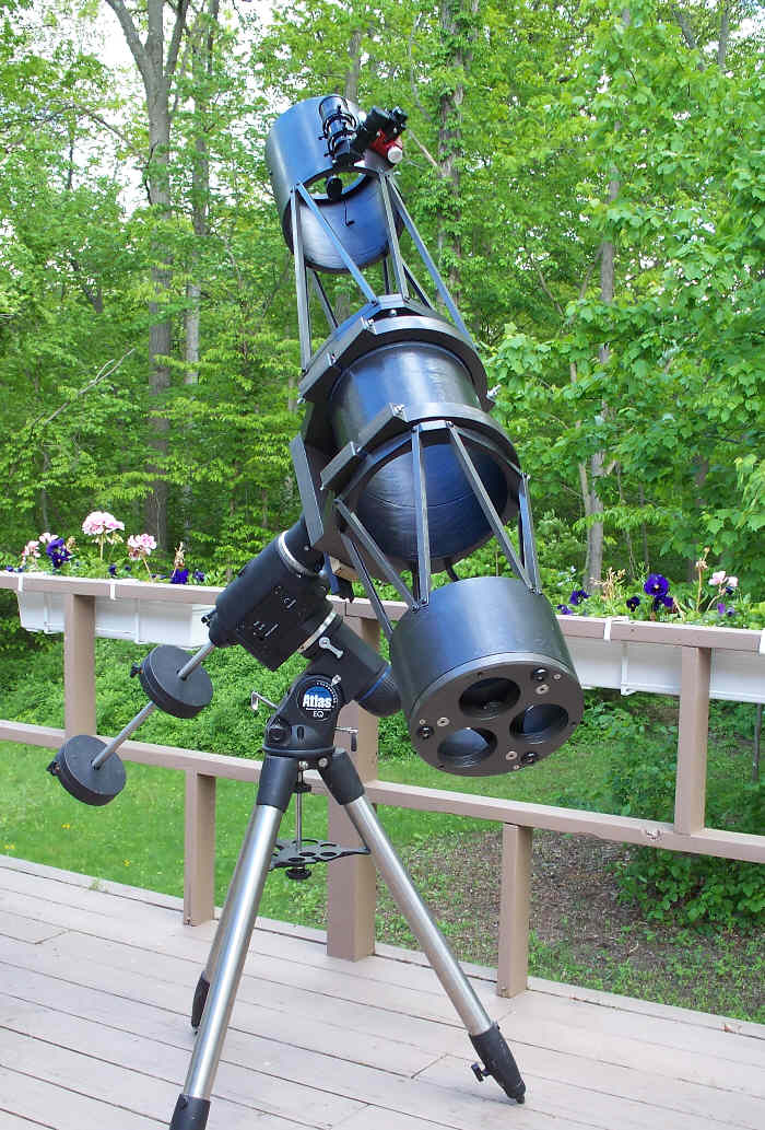 how to build a professional telescope at home